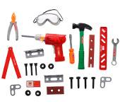 Игрушечные наборы оружия и инструментов