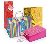 Пакеты подарочные, бумага подарочная