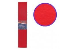бумага гофр. J.Otten KR55-8001 красная  55%  20г/м2  (50см.х200см.)  (10/200)