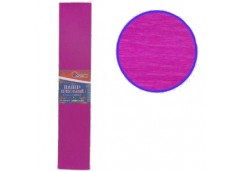 бумага гофр. J.Otten KR55-8005 темно-розовая  55%  20г/м2  (50см.х200см.)  (10/2...