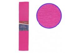 бумага гофр. J.Otten KR55-8006 ярко-розовая  55%  20г/м2  (50см.х200см.)  (10/20...