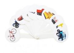 веер транспорт пластмассовый  (160)