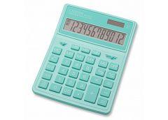 калькулятор Citizen SDC-444XRGNE-green цветной настольный большой  (10)