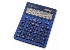 калькулятор Citizen SDC-444XRNVE-navy цветной настольный большой  (10)