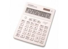 калькулятор Citizen SDC-444XRWHE-white цветной настольный большой  (10)