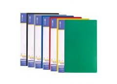 папка Economix E31208 с бок. зажимом пласт. А4  (clip B) Light  (20/120)