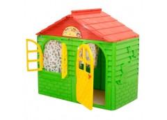 домик со шторками Doloni-toys  02550/13