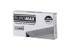 скобы Buromax  №24/1000шт./уп.  BM.4402  (10/500)