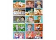 открытка Мандарин средний формат