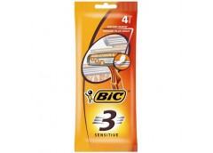 станок для бритья BIC 3 Sensitive набор 4 цена за набор  (20)