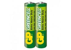 батарейка GP R 03  Greencell зелен.  1x 2 в кор. (40/200/1000)