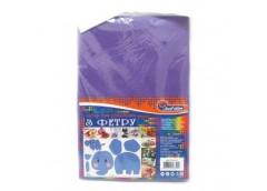 фетр J.Otten Hard 170гр./м2 1,2мм А4 светло-фиолетовый (10 шт./упак.)  HQ170-037...