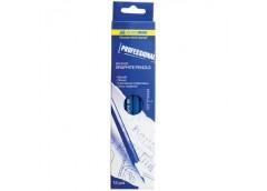 карандаш простой Buromax Professional набор 12шт. разн. тверд. (6В-3Н), шестигр....
