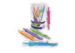 циркуль J.Otten SC01001LC-P цветной в пластик. футляре в банке  (10/80/320)
