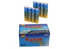 батарейка Кулак LR03 1х4 кор.  (40/1200)