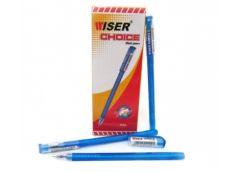 ручка Wiser Choice гелевая 0,6мм. синяя 0,6мм.  (12/144/1728)
