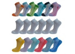носки детские сетка короткие, стандартное плетение, разм. 22-24 (34-36) (12)