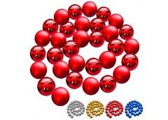 гирлянда из елочных шариков 6см. 32шт.  84393  (24)