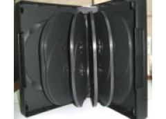 бокс для DVD 45мм черн. на 14дисков  (50)