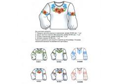 заготовка для вышивки сорочки для девочки  BSD00