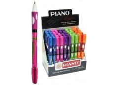 ручка Piano РТ-251 шар. масл. для развития каллиграфии (ПРАВАЯ) син.  (50/2400)