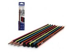 карандаш простой Acmeliae 43511 треугольный