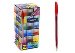 ручка Beifa AA927 крас.  (50/1000/4000)
