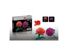 пазлы 3D роза 22дет. в кор. 24х16х3,5см.  29027-28-1  (120)