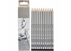 карандаш простой Marco 7000-12CB Raffine (H)  (12/144/2880)