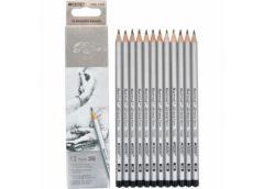 карандаш простой Marco 7000-12CB Raffine (3B)  (12/144/2880)