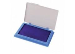 штемпельная подушка Economix 70х110мм. синяя  42101-02  (12/144)