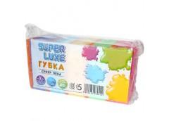 губка для посуды Super Luxe пористая набор 5шт.