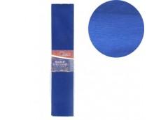 бумага гофр. J.Otten KR55-8007 темно-синяя  55%  20г/м2  (50см.х200см.)  (10/200...