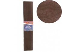 бумага гофр. J.Otten KR55-8028 темно-коричневая  55%  20г/м2  (50см.х200см.)  (1...