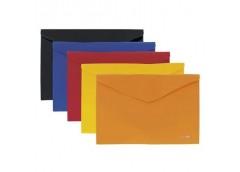 папка Economix E31303-50 конверт на липучке пласт. А4  (12/240)