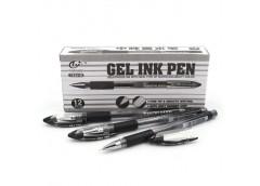 ручка Tianzhijao TZ-501B гелев. черн.  (12/144/1728)