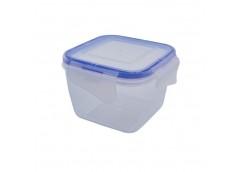контейнер для пищевых продуктов Алеана с зажимом квадр. 0,45л.  (5/75)