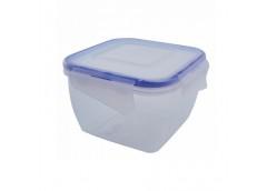 контейнер для пищевых продуктов Алеана с зажимом квадр. 0,9л.  (5/75)