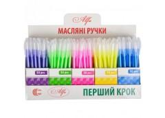 ручка Color-it Alfa шар. масляная син.  8007  (150/3000)