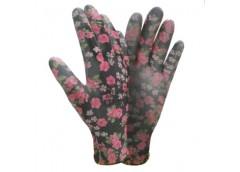 рукавицы Сигма трикотажные с частичным ПУ покрытием, черные, разм. 8