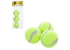 теннисные мячи в кул. 3шт. (цена за 1мячик) 23х11см.  MS 0234  (240)