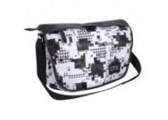 сумка CFS на плечо горизонтальная Black&White 26х38х13см.  CF85236