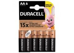 батарейка Duracell LR 6  1x 6 блист.  (60)