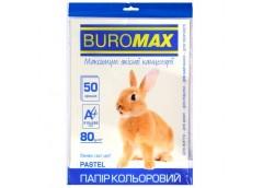 бум. офис. цв. Buromax  А4/80гр./50л. Pastel кремовый  ВМ.2721250-49  (60)