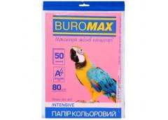 бум. офис. цв. Buromax  А4/80гр./50л. Intensiv малиновый  ВМ.2721350-29  (60)
