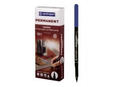 маркер Centropen 2536 тонк. синий  (12/2400)