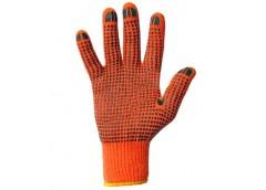 рукавицы трикотажные с точкой ПВХ 10кл.  526