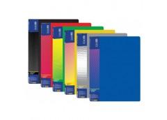 папка Economix E30602 с 20-ю файлами пласт. А4  (24/144)