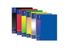 папка Economix E30603 с 30-ю файлами пласт. А4  (24/144)