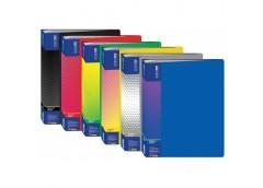 папка Economix E30608 с 80-ю файлами в боксе пласт. А4  (6/24)